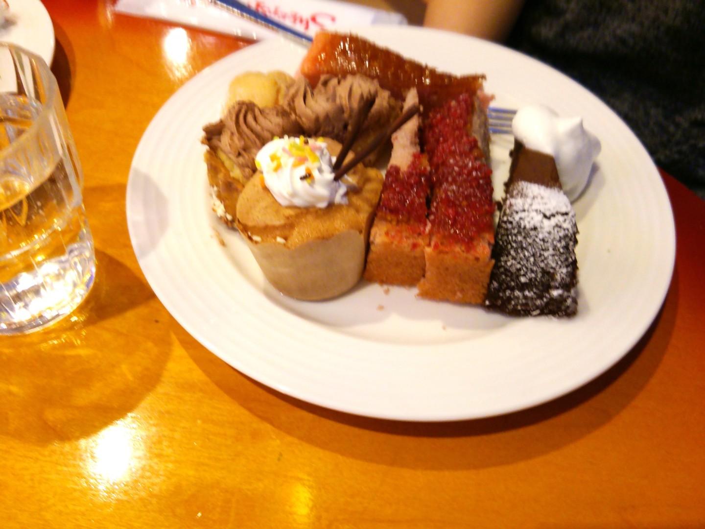 ケーキバイキングによる食事会(14)