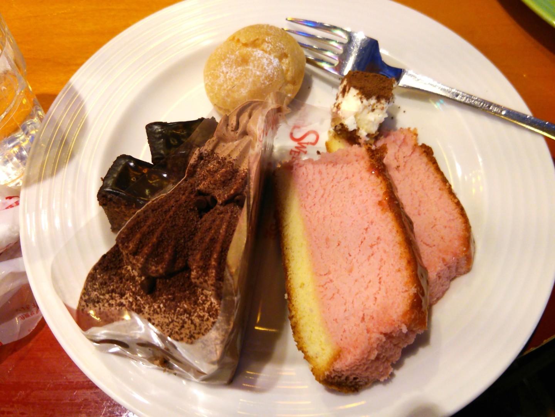 ケーキバイキングによる食事会(6)