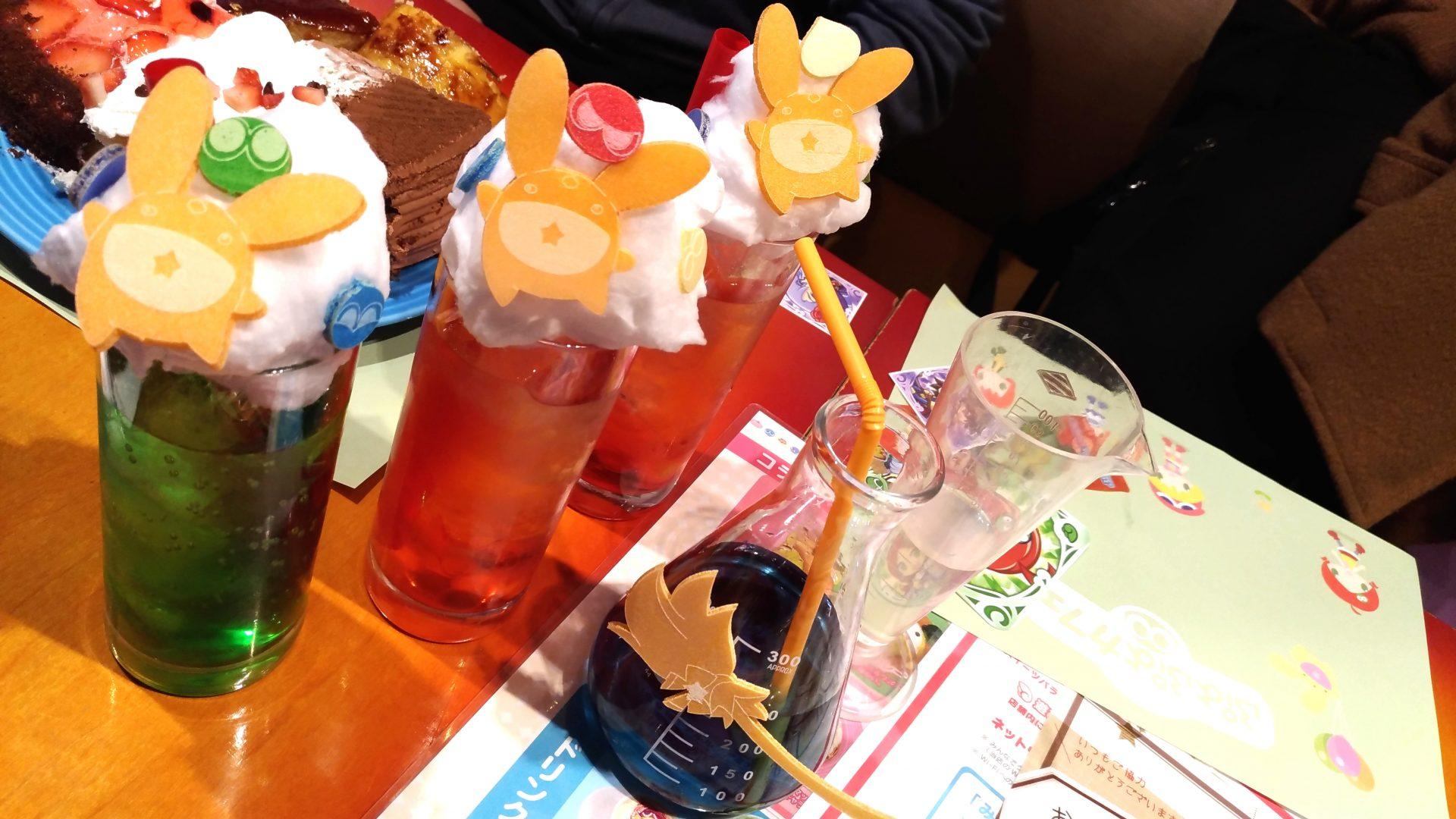 池袋のぷよぷよカフェ